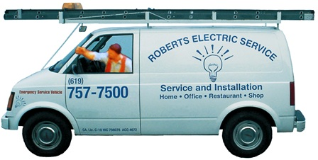 Mat Wahlstrom's Electrical Service Van