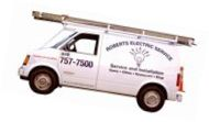 Ben Day's Electrical Service Van