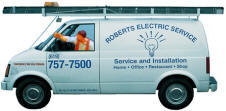 Electrical Service Truck for works in Hillcrest or Mission Hills 92107